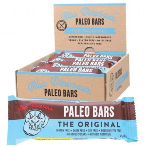 Blue Dinosaur Paleo Bars - Box of 12