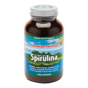 Green Nutritionals Hawaiian Pacifica Spirulina - 100g