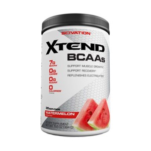 Scivation Xtend BCAAs - Build Muscle Burn Fat Recover Faster - 30 Serves