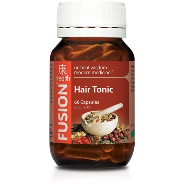Fusion Health Hair Tonic 60 Capsules 4987