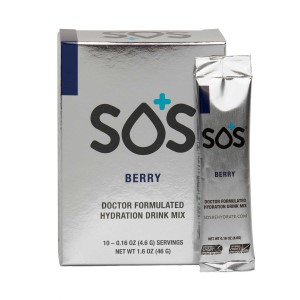 SOS Rehydration Electrolyte Drink Powder - 10 x 4.6g Sachet