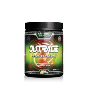 Outlast Nutrition OutRage Pre-Workout Formula - 300g - 30 Servings