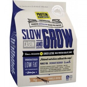 Protein Supplies Slow & Grow Casein - 1kg
