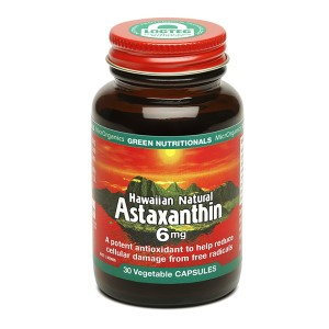 Green Nutritionals Hawaiian Natural Astaxanthin - 30 Vege Capsules