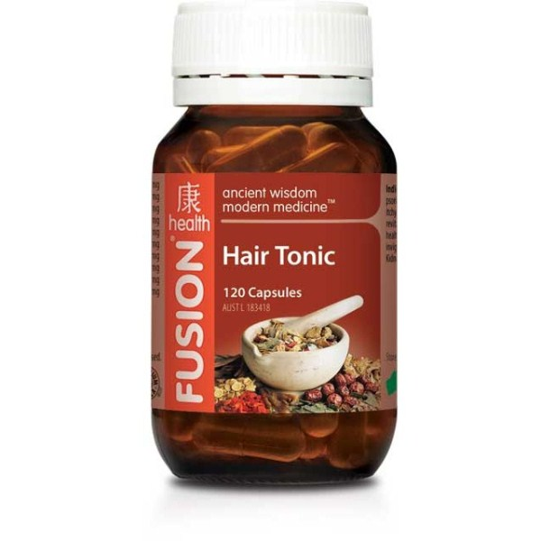 Fusion Health Hair Tonic 120 Capsules 4427