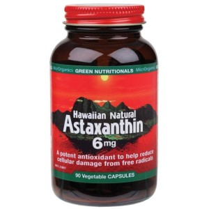 Green Nutritionals Hawaiian Natural Astaxanthin - 90 Vege Capsules