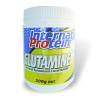 International Protein 100% Pure L-Glutamine Natural Fermented 500g