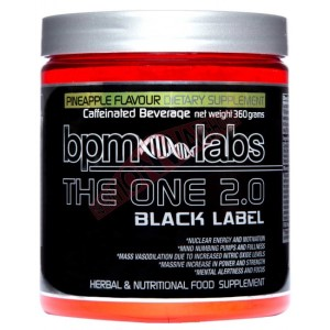 BPM Labs The One 2.0 Black Label Pre-Workout - 360g - 30 Serves