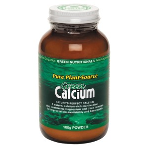 Green Nutritionals Green Calcium: Pure Plant Source - 100g