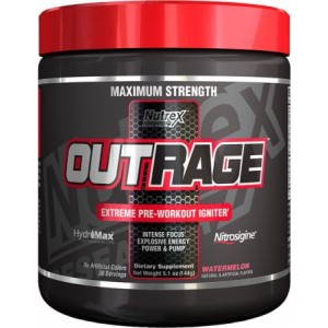 Nutrex Outrage Pre-Workout - 30 Serves
