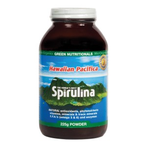 Green Nutritionals Hawaiian Pacifica Spirulina - 225g
