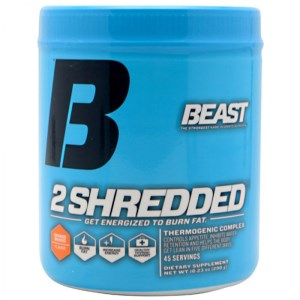 Beast 2 Shredded Thermogenic Fat Burning Formula - 290g - 40 Servings