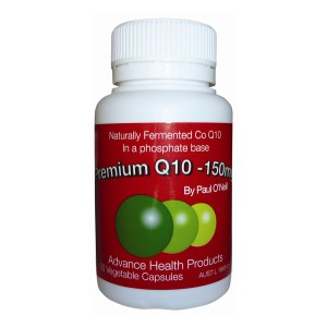 Paul ONeills Premium Co-Enzyme Q10 150mg - 60 Capsules