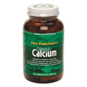 Green Nutritionals Green Calcium: Pure Plant Source - 60 Capsules