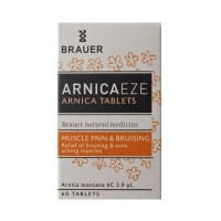 Brauer  Arnicaeze 6C - Bruising and Soreness Relief - 60 Tablets