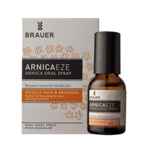 Brauer Arnica Oral Spray - Bruising and Soreness Relief - 20ml