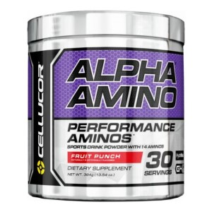 Cellucor Alpha Amino Sports Drink With 14 Aminos - 384g - 30 Servings