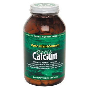 Green Nutritionals Green Calcium: Pure Plant Source - 240 Capsules