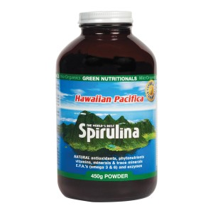 Green Nutritionals Hawaiian Pacifica Spirulina - 450g