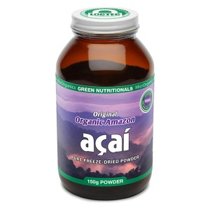 Green Nutritionals Organic Acai - 150g