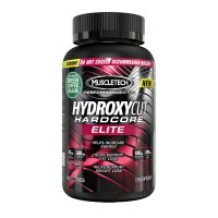 MuscleTech Hydroxycut Hardcore Elite Thermogenic Fat Burner - 110 Capsules