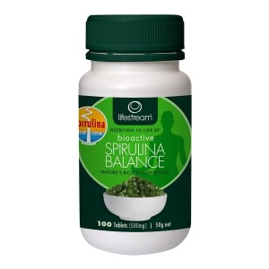 Lifestream Bioactive Spirulina 500mg - 100 Tablets