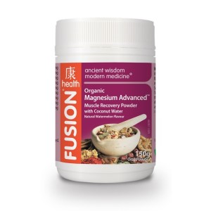 Fusion Health Organic Magnesium Advanced Muscle Recovery Powder 150g - 30 Serves